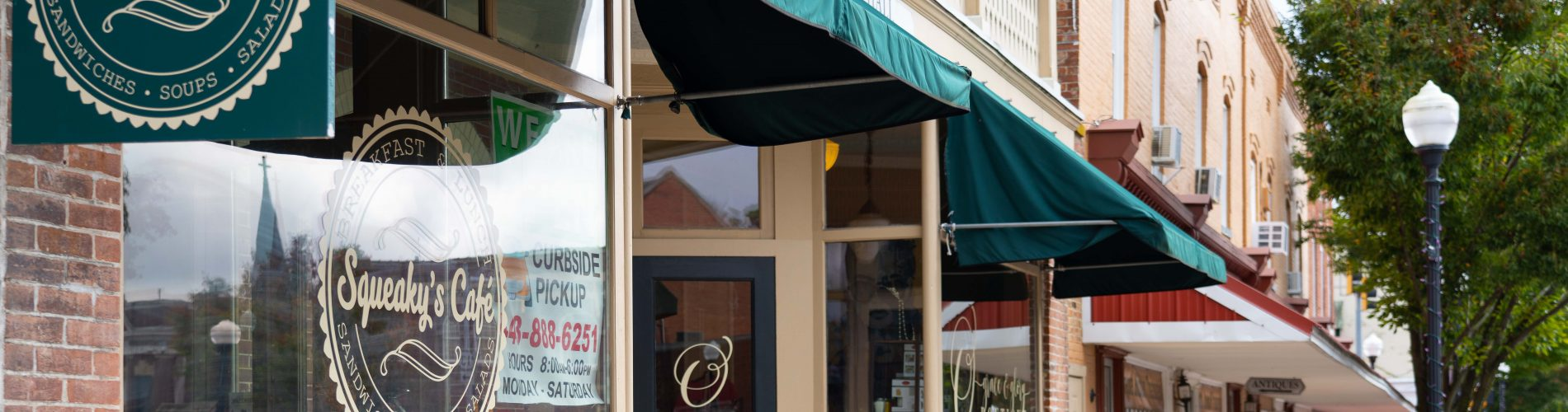 A photo of Squeaky's Cafe Princess Anne MD