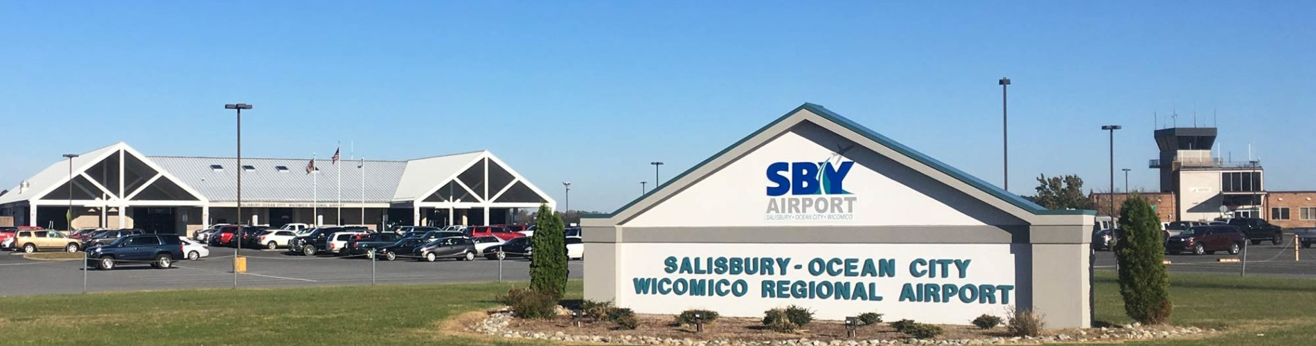 An image of the front of the Salisbury Regional Airport
