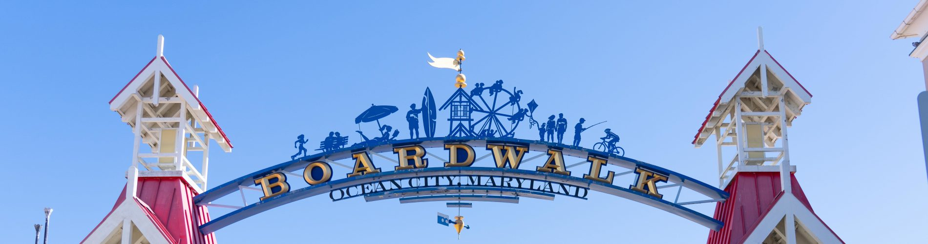 A photo of the Ocean City Maryland Arch