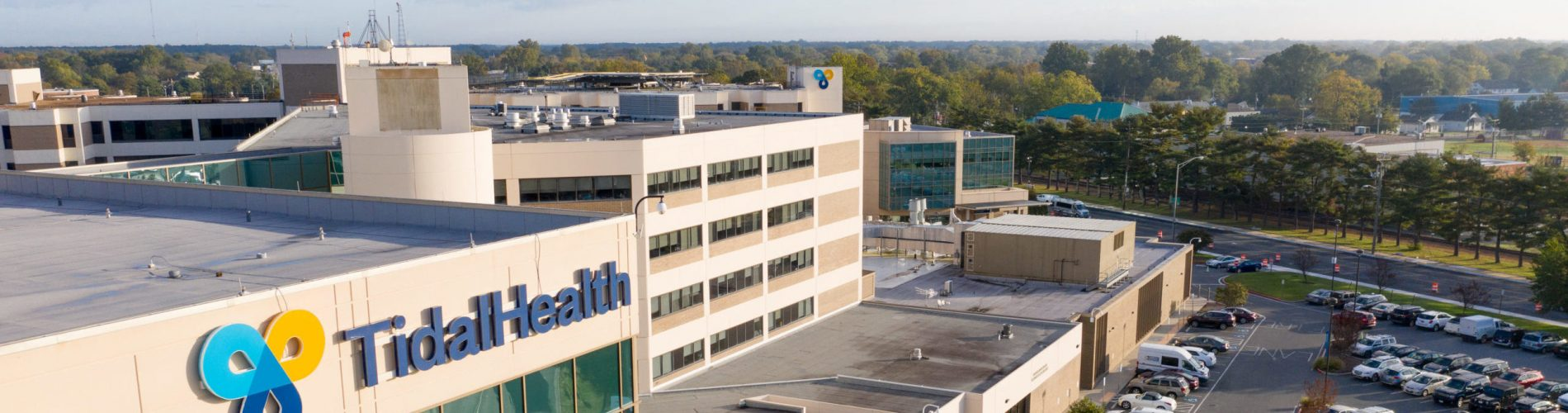 Aerial Photo of TidalHealth Peninsula Regional Medical Center