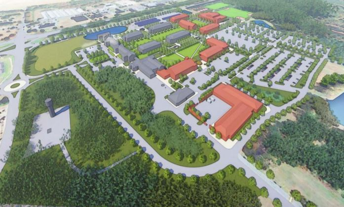 Existing and Proposed Buildings - Wor Wic Community College Proposed Campus Development Plan