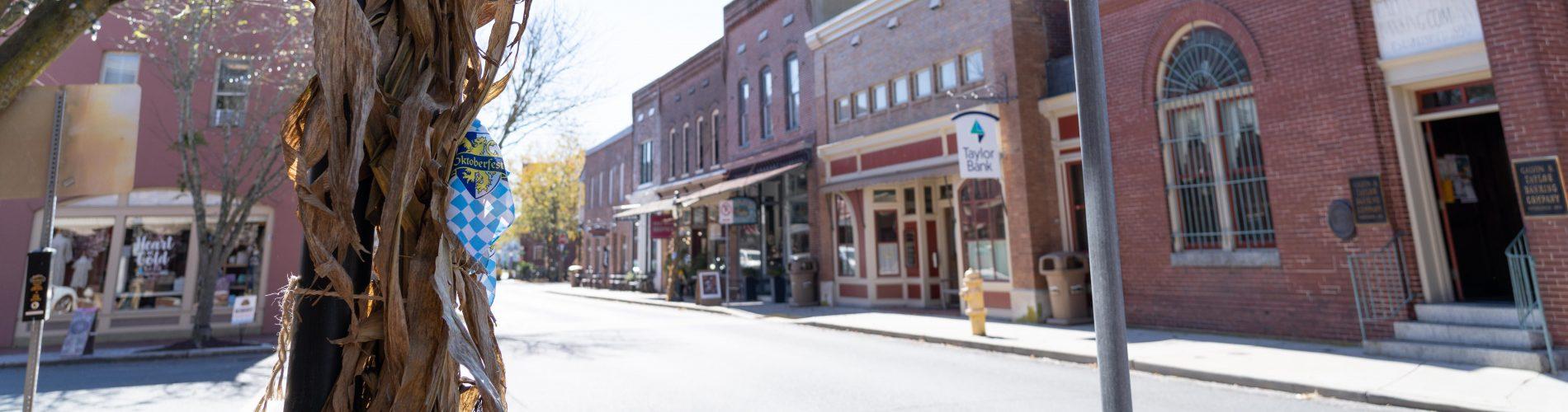 A Photo of main street berlin Maryland