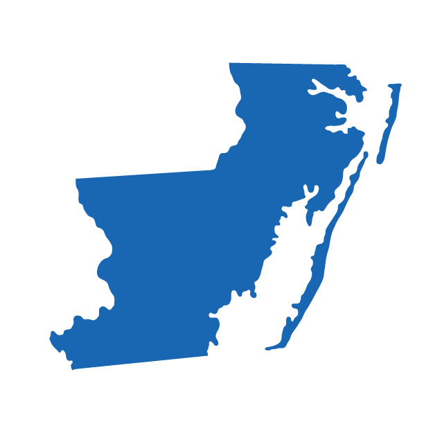Silhouette of Worcester County