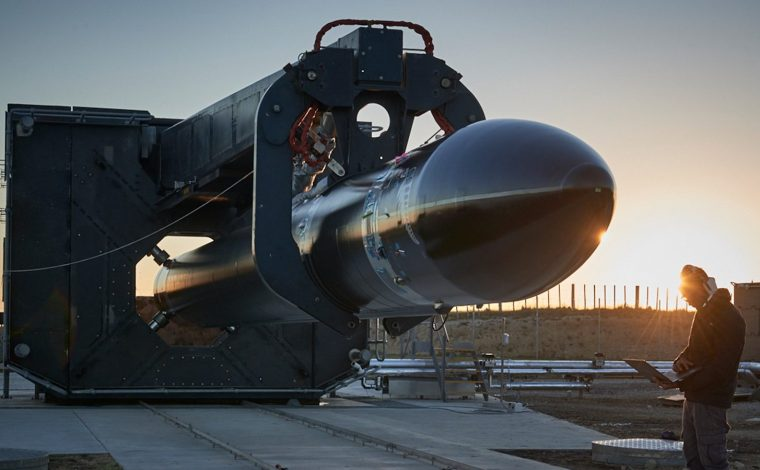 Rocket Lab's space craft the Proton