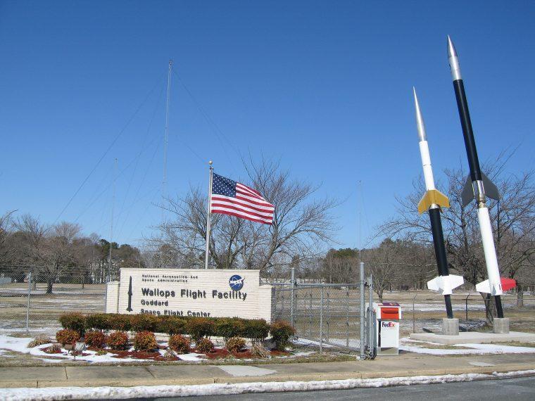 Wallops Flight Facility entrance