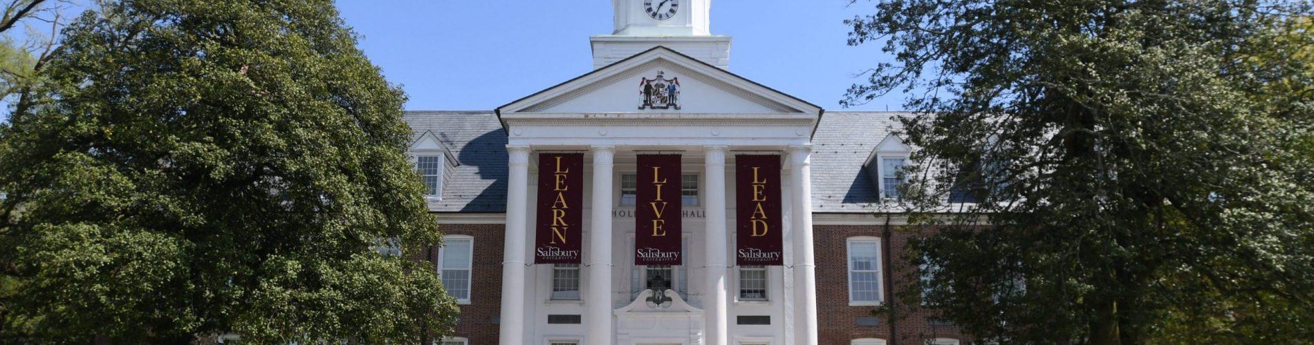 A photo of Holloway hall Salisbury university