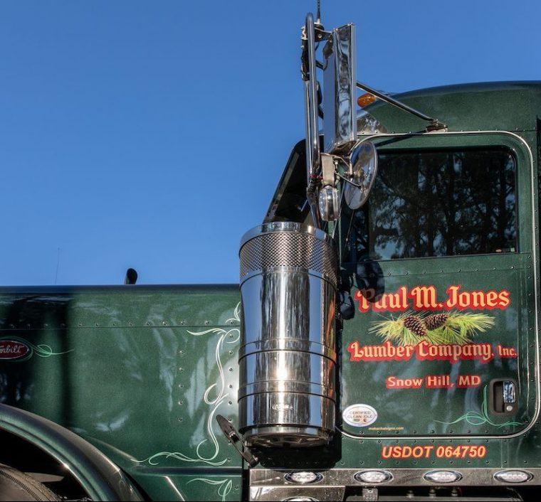 Paul M Jones Lumber Truck